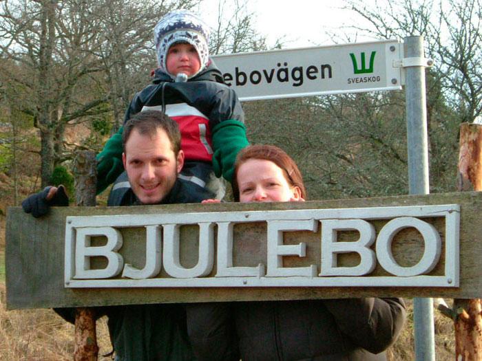 Nea und Eltern - Ferienhäuser in Schweden - Gästebuch