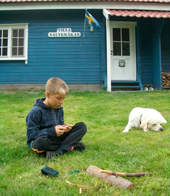 Familie Weidmann - Ferienhäuser in Schweden - Gästebuch